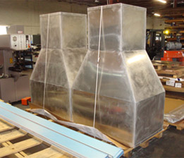 Metal Fabricated HVAC Duct