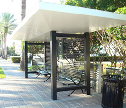 Steel Fabricated Bus Shelter 2